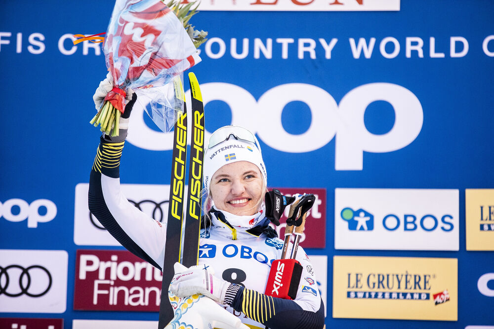 08.02.2020, Falun, Sweden (SWE):Linn Svahn (SWE) - FIS world cup cross-country, individual sprint, Falun (SWE). www.nordicfocus.com. © Modica/NordicFocus. Every downloaded picture is fee-liable.