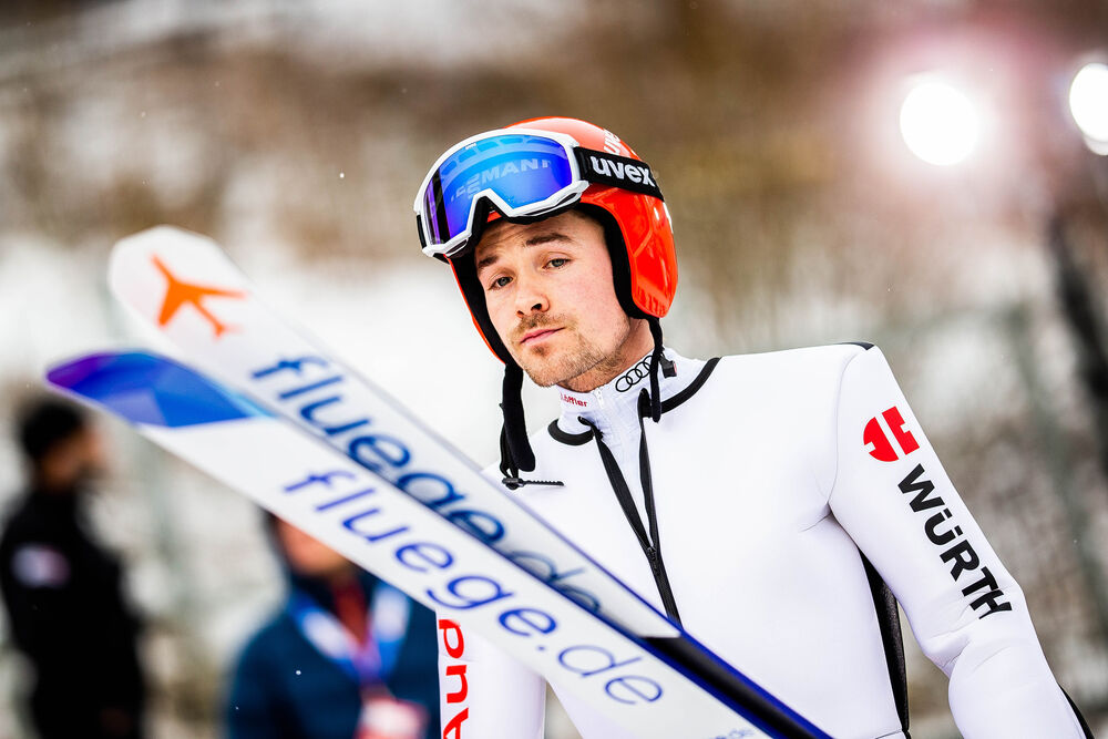 01.03.2020 Lahti, Finland (FIN):Fabian Riessle (GER) - FIS world cup nordic combined, individual gundersen HS130/10km, Lahti (FIN). www.nordicfocus.com. © Modica/NordicFocus. Every downloaded picture is fee-liable.