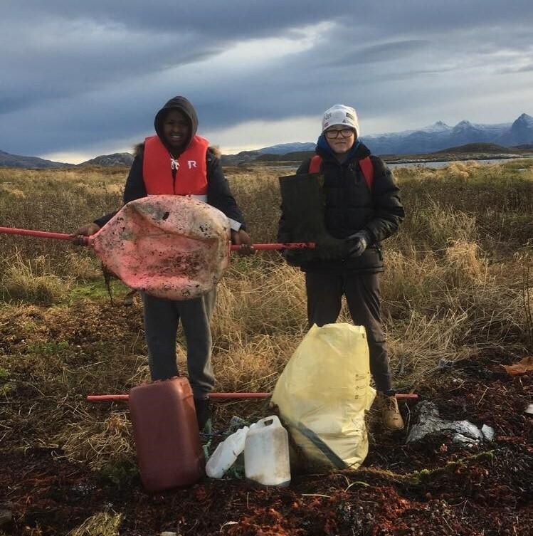 Søppelplukking på Vardøya_2