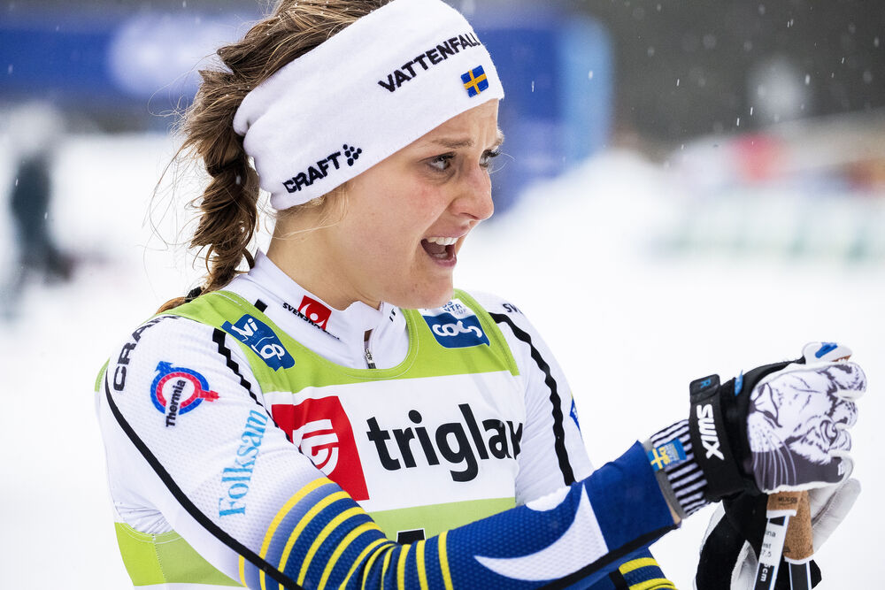 21.12.2019, Planica, Slovenia (SLO):Stina Nilsson (SWE) - FIS world cup cross-country, individual sprint, Planica (SLO). www.nordicfocus.com. © Modica/NordicFocus. Every downloaded picture is fee-liable.