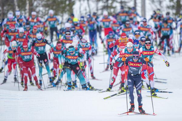 20.02.2020, Storlien-Meraker, Norway (NOR):Federico Pellegrino (ITA) - FIS world cup cross-country, mass men, Storlien-Meraker (NOR). www.nordicfocus.com. © Thibaut/NordicFocus. Every downloaded picture is fee-liable.