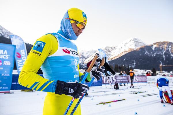 01.02.2020, Toblach-Cortina, Italy (ITA):Torleif Syrstad (NOR) - Visma Ski Classics, Toblach-Cortina (ITA). www.nordicfocus.com. © Modica/NordicFocus. Every downloaded picture is fee-liable.