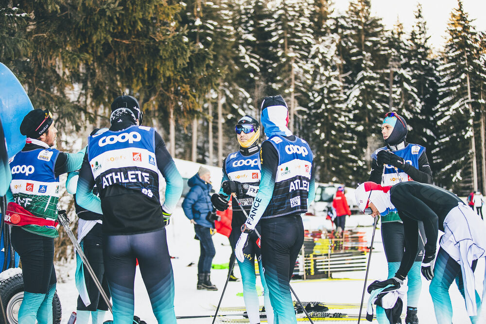30.12.2019, Toblach, Italy (ITA):Maurice Manificat (FRA) - FIS world cup cross-country, tour de ski, training, Toblach (ITA). www.nordicfocus.com. © Modica/NordicFocus. Every downloaded picture is fee-liable.
