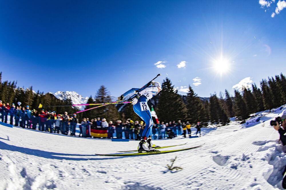18.02.2020, Antholz, Italy (ITA):Kaisa Makarainen (FIN) - IBU World Championships Biathlon, individual women, Antholz (ITA). www.nordicfocus.com. © Manzoni/NordicFocus. Every downloaded picture is fee-liable.