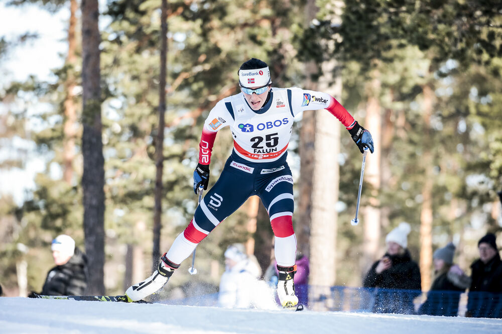 16.03.2018, Falun Sweden (SWE):Marit Bjoergen (NOR) - FIS world cup cross-country, individual sprint, Falun (SWE). www.nordicfocus.com. © Modica/NordicFocus. Every downloaded picture is fee-liable.