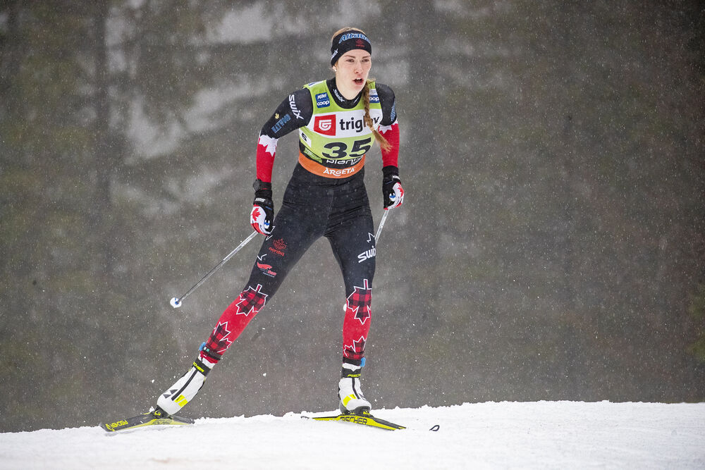 21.12.2019, Planica, Slovenia (SLO):Dahria Beatty (CAN) - FIS world cup cross-country, individual sprint, Planica (SLO). www.nordicfocus.com. © Modica/NordicFocus. Every downloaded picture is fee-liable.