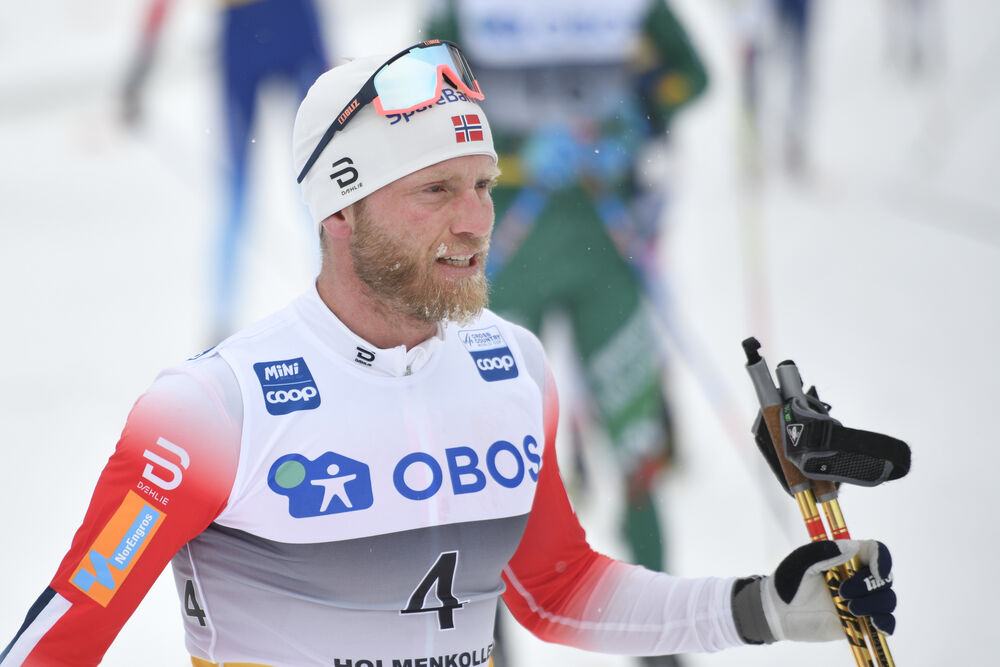 09.03.2019, Oslo, Norway (NOR):Martin Johnsrud Sundby (NOR) - FIS world cup cross-country, mass men, Oslo (NOR). www.nordicfocus.com. © Thibaut/NordicFocus. Every downloaded picture is fee-liable.