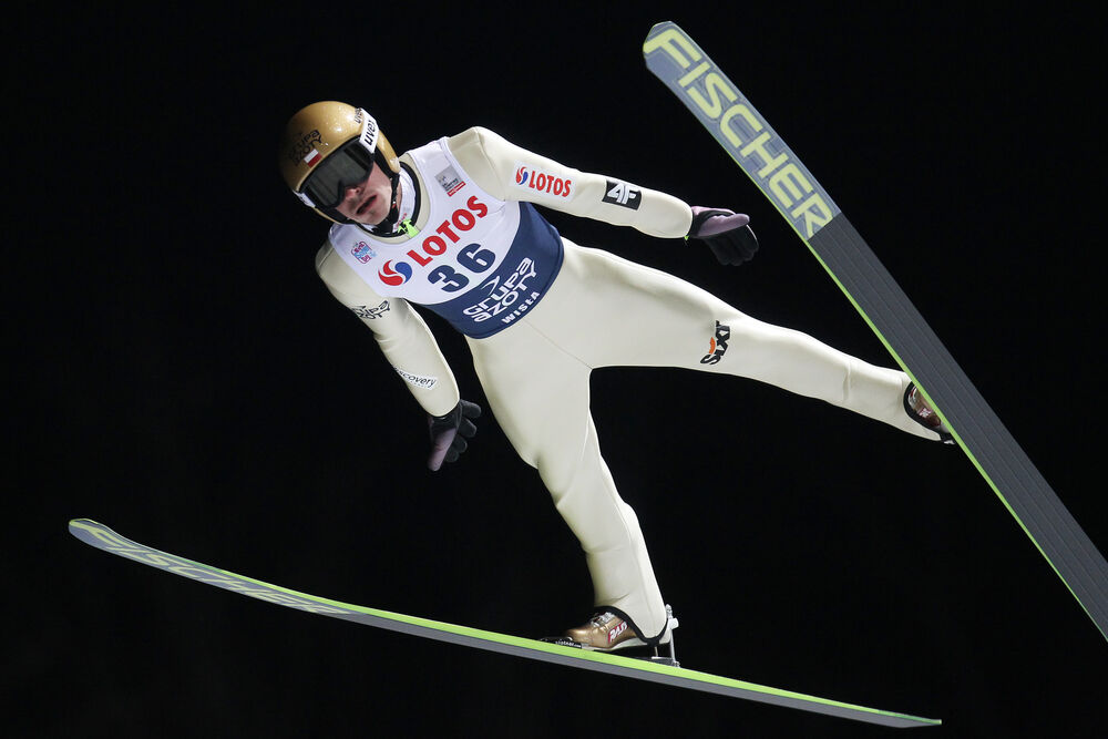 15.01.2015, Wisla, Poland (POL): Piotr Zyla (POL), Fischer- FIS world cup ski jumping, individual HS134, Wisla (POL). www.nordicfocus.com. © Domanski/NordicFocus. Every downloaded picture is fee-liable.