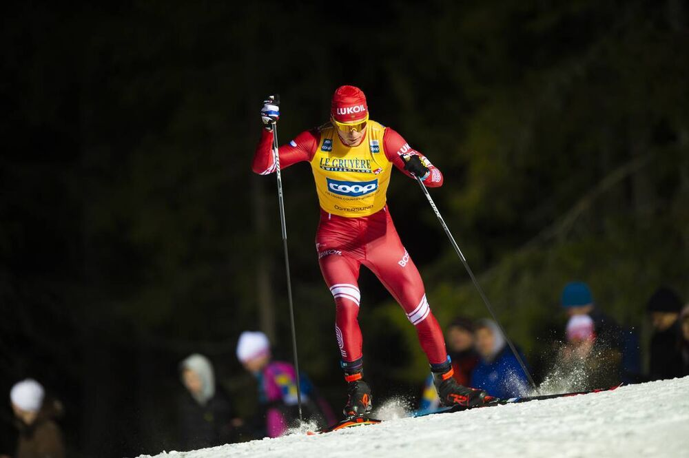 15.02.2020, Oestersund, Sweden (SWE):Alexander Bolshunov (RUS) - FIS world cup cross-country, 15km men, Oestersund (SWE). www.nordicfocus.com. © Vianney THIBAUT/NordicFocus. Every downloaded picture is fee-liable.