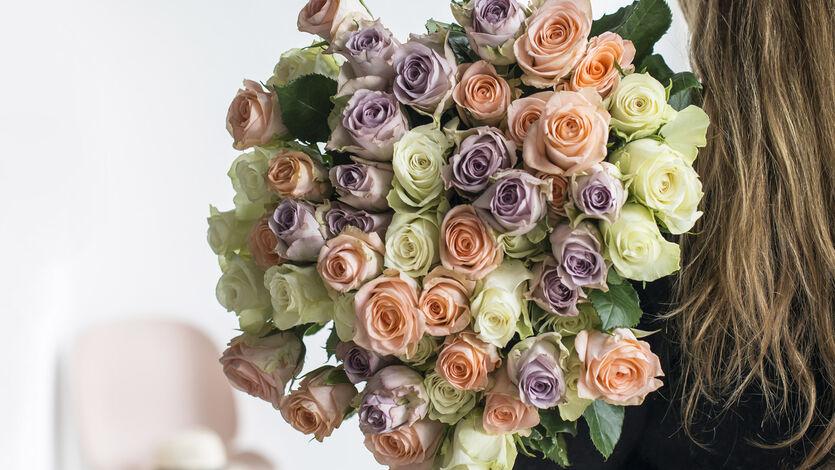 Festroser - romantiske<br/> roser til fest