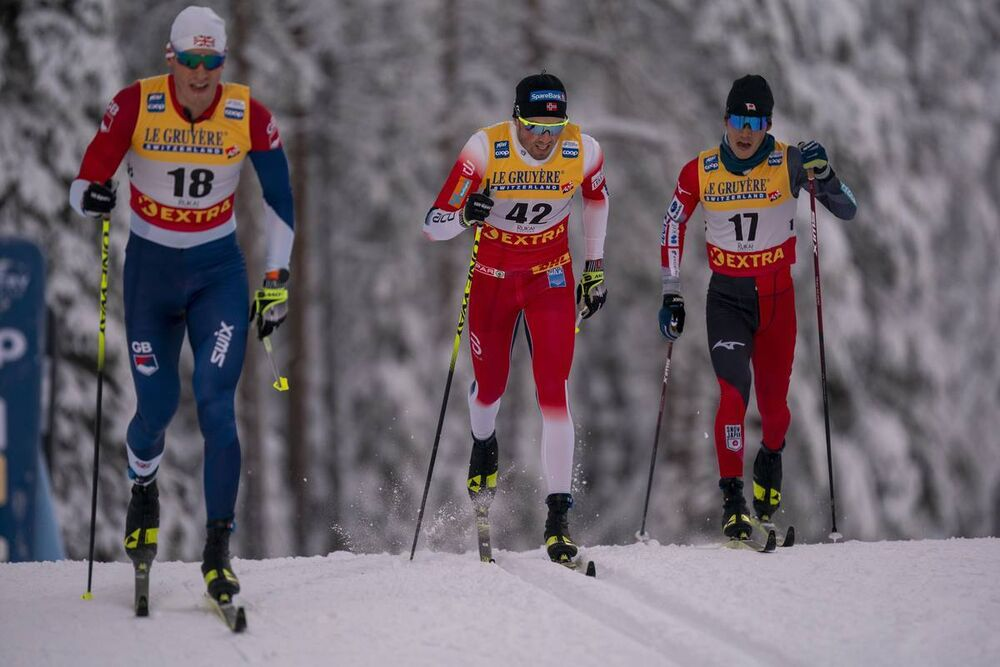 28.11.2020, Ruka, Finland (FIN):Emil Iversen (NOR) - FIS world cup cross-country, 15km men, Ruka (FIN). www.nordicfocus.com. © Vianney Thibaut/NordicFocus. Every downloaded picture is fee-liable.