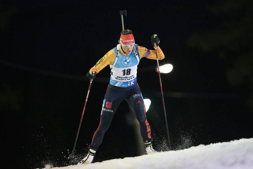28.11.2020, Kontiolahti, Finland (FIN):Denise Herrmann (GER) -  IBU world cup biathlon, individual women, Kontiolahti (FIN). www.nordicfocus.com. © Manzoni/NordicFocus. Every downloaded picture is fee-liable.
