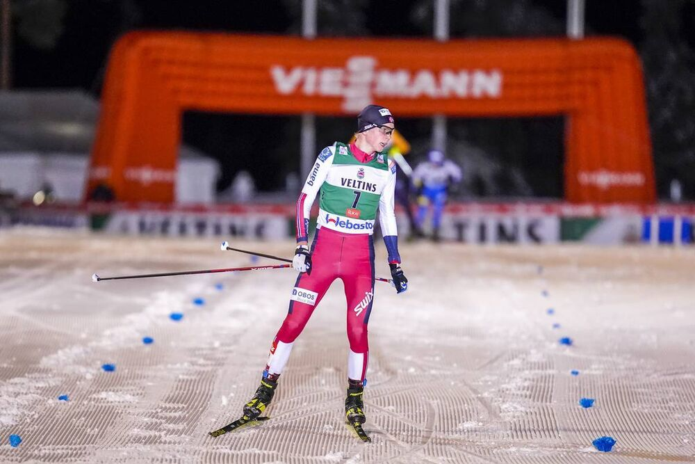 27.11.2020, Ruka, Finland (FIN):Jens Luraas Oftebro (NOR) - FIS world cup nordic combined men, individual gundersen HS142/10km, Ruka (FIN). www.nordicfocus.com. © Vianney THBAUT/NordicFocus. Every downloaded picture is fee-liable.