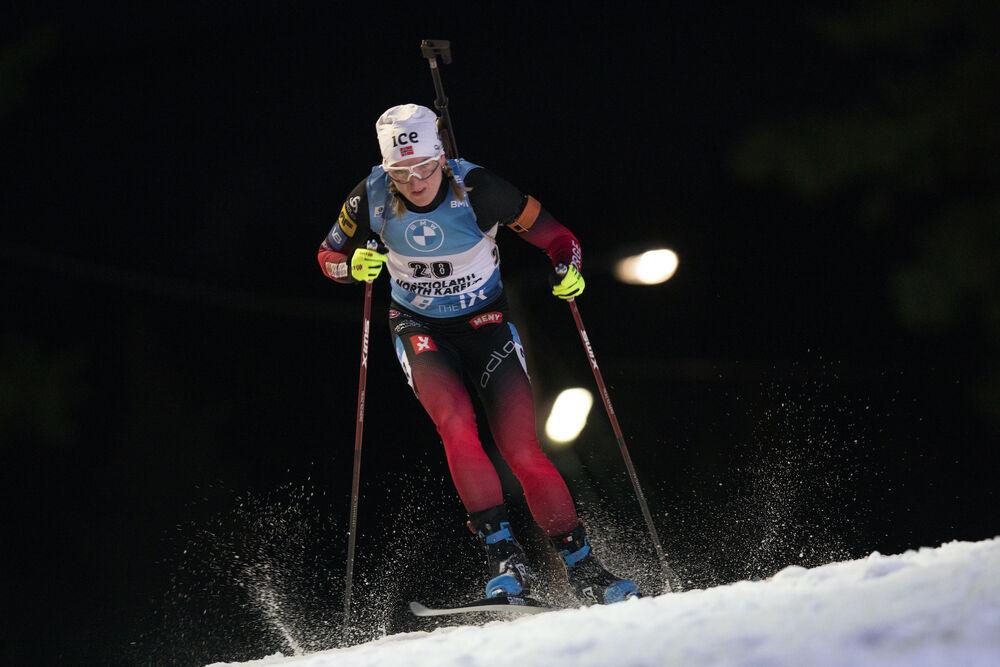 28.11.2020, Kontiolahti, Finland (FIN):Marte Olsbu Roeiseland (NOR) -  IBU world cup biathlon, individual women, Kontiolahti (FIN). www.nordicfocus.com. © Manzoni/NordicFocus. Every downloaded picture is fee-liable.