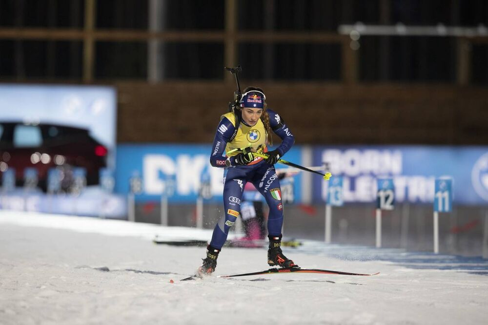 29.11.2020, Kontiolahti, Finland (FIN):Dorothea Wierer (ITA) -  IBU world cup biathlon, sprint women, Kontiolahti (FIN). www.nordicfocus.com. © Manzoni/NordicFocus. Every downloaded picture is fee-liable.