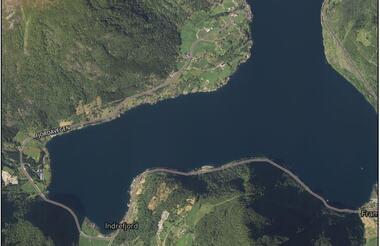 Flyfoto av Tenne