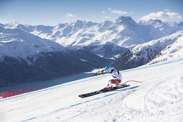 Photo : Weltcup St Moritz