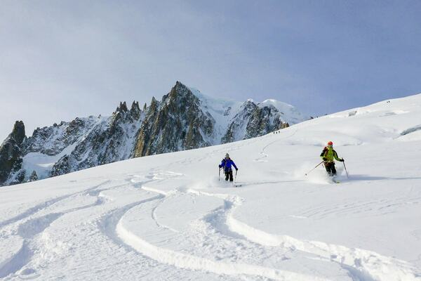 Photo : Compagnie des guides Chamonix