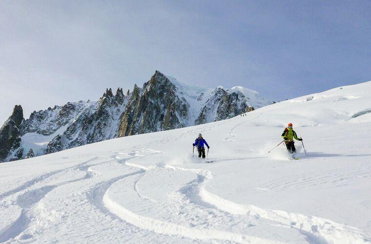Photo : Compagnie des guides Chamonix