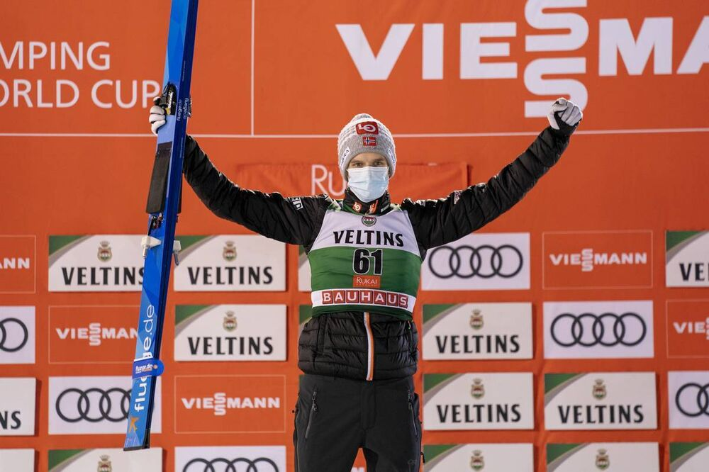 29.11.2020, Ruka, Finland (FIN):Halvor Egner Granerud (NOR) - FIS world cup ski jumping men, individual HS142, Ruka (FIN). www.nordicfocus.com. © Vianney Thibaut/NordicFocus. Every downloaded picture is fee-liable.