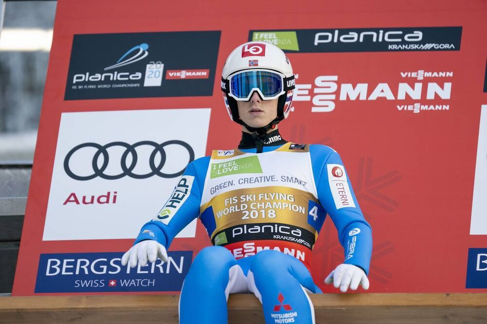 13.12.2020, Planica, Slovenia (SLO):Halvor Egner Granerud (NOR) - FIS world championships ski flying men, team HS240, Planica (SLO). www.nordicfocus.com. © Thibaut/NordicFocus. Every downloaded picture is fee-liable.