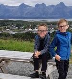 Daniel og Sondre Ramstad