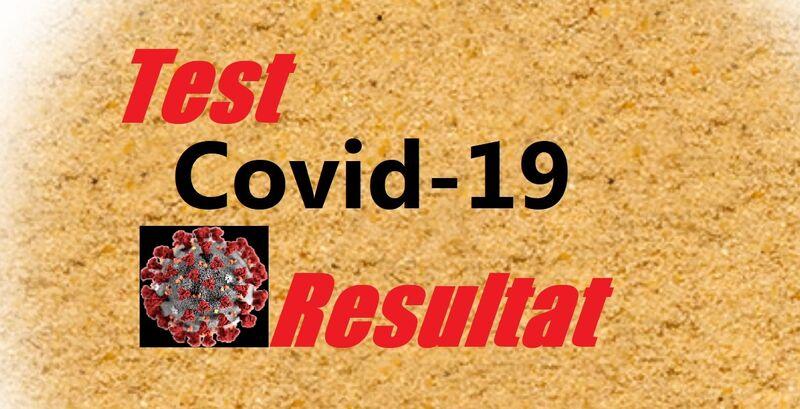 Covid-19 testresultat