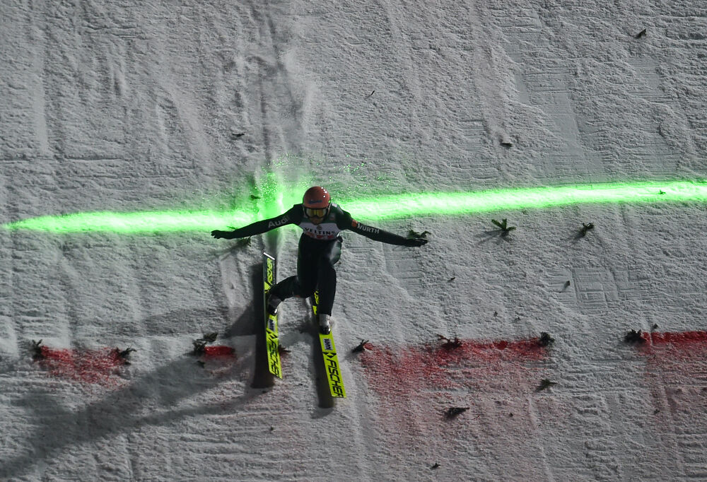 29.12.2019, Oberstdorf, Germany (GER):Pius Paschke (GER) - FIS world cup ski jumping, four hills tournament, individual HS137, Oberstdorf (GER). www.nordicfocus.com. © Tumashov/NordicFocus. Every downloaded picture is fee-liable.