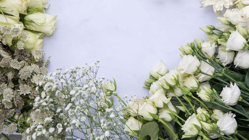 Blomster skaper vårglede