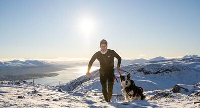 NORDMENNS FAVORITT: Å gå på tur er den aktivitetsformen flest foretrekker. Foto: Siri Vilberg