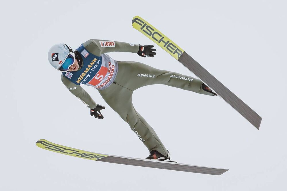 03.01.2021, Innsbruck, Austria (AUT):Kamil Stoch (POL) - FIS world cup ski jumping men, four hills tournament, individual HS128, Innsbruck (AUT). www.nordicfocus.com. © EXPA/JFK/NordicFocus. Every downloaded picture is fee-liable.