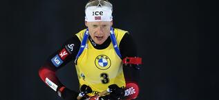 05.12.2020, Kontiolahti, Finland (FIN):Johannes Thingnes Boe (NOR) -  IBU World Cup Biathlon, pursuit men, Kontiolahti (FIN). www.biathlonworld.com © Manzoni/IBU. Handout picture by the International Biathlon Union. For editorial use only. Resale or dis