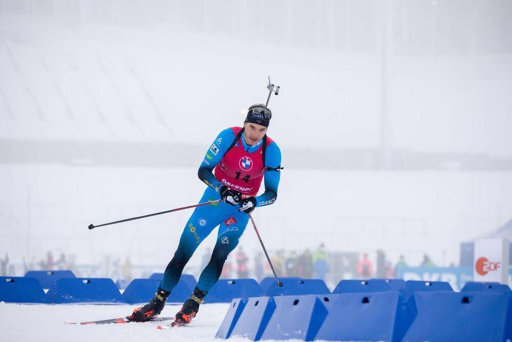 09.01.2021, Oberhof, Germany (GER):Emilien Jacquelin (FRA) -  IBU World Cup Biathlon, pursuit men, Oberhof (GER). www.nordicfocus.com. © Manzoni/NordicFocus. Every downloaded picture is fee-liable.
