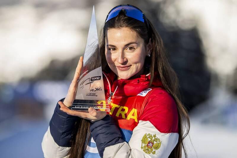 10.01.2021, Val di Fiemme, Italy (ITA): Yulia Stupak (RUS) - FIS world cup cross-country, tour de ski, final climb women, Val di Fiemme (ITA). www.nordicfocus.com. © Modica/NordicFocus. Every downloaded picture is fee-liable.