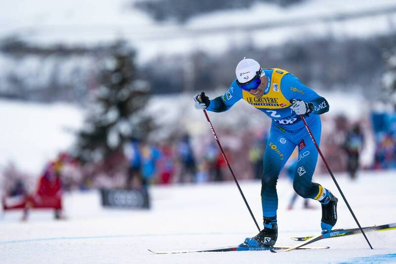 10.01.2021, Val di Fiemme, Italy (ITA): Maurice Manificat (FRA) - FIS world cup cross-country, tour de ski, final climb men, Val di Fiemme (ITA). www.nordicfocus.com. © Vianney THIBAUT/NordicFocus. Every downloaded picture is fee-liable.