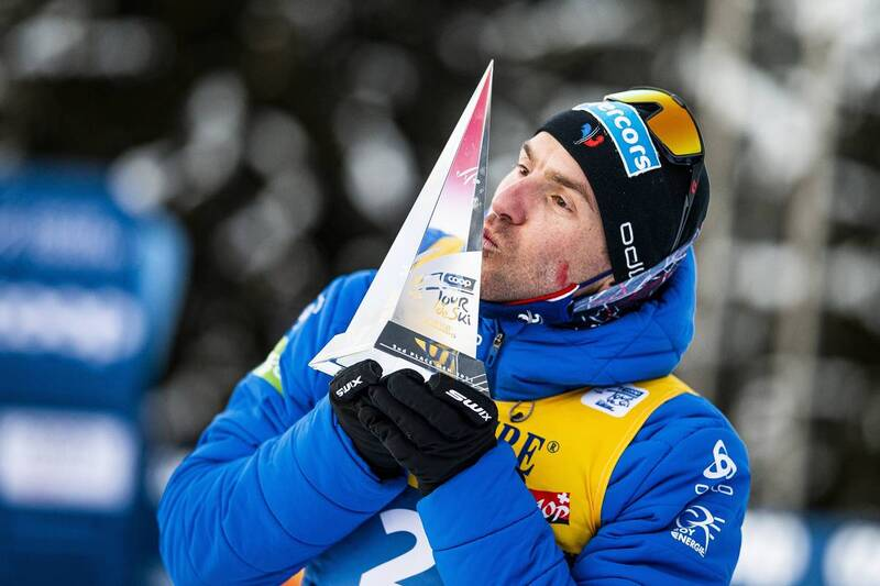 10.01.2021, Val di Fiemme, Italy (ITA): Maurice Manificat (FRA) - FIS world cup cross-country, tour de ski, final climb men, Val di Fiemme (ITA). www.nordicfocus.com. © Modica/NordicFocus. Every downloaded picture is fee-liable.