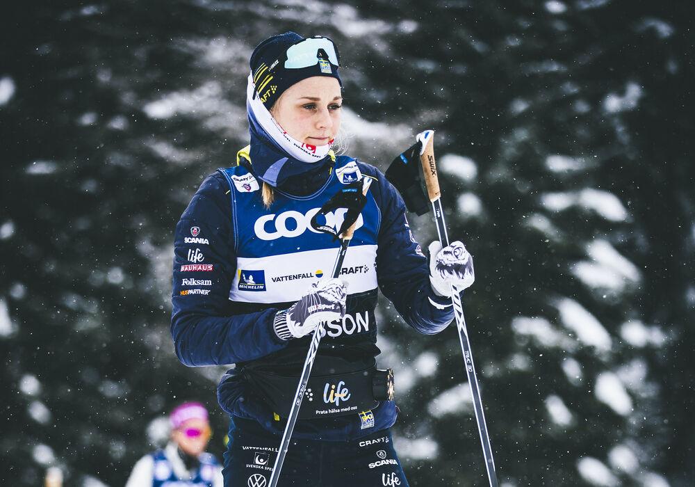 27.12.2019, Lenzerheide, Switzerland (SUI):Stina Nilsson (SWE) - FIS world cup cross-country, tour de ski, training, Lenzerheide (SUI). www.nordicfocus.com. © Modica/NordicFocus. Every downloaded picture is fee-liable.
