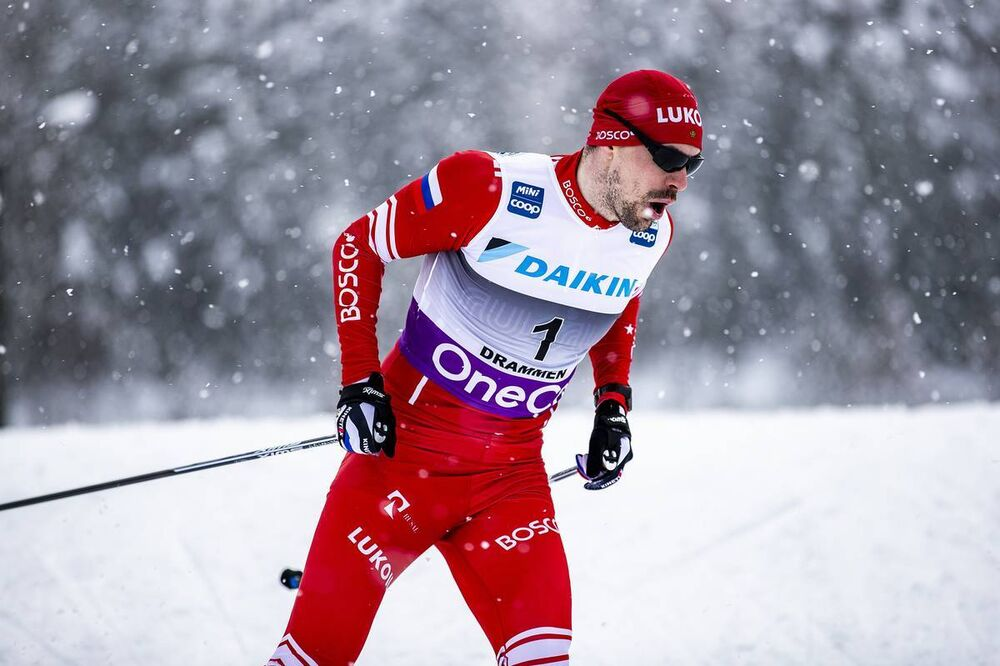 04.03.2020, Konnerud, Norway (NOR):Sergey Ustiugov (RUS) - FIS world cup cross-country, individual sprint, Konnerud (NOR). www.nordicfocus.com. © Modica/NordicFocus. Every downloaded picture is fee-liable.