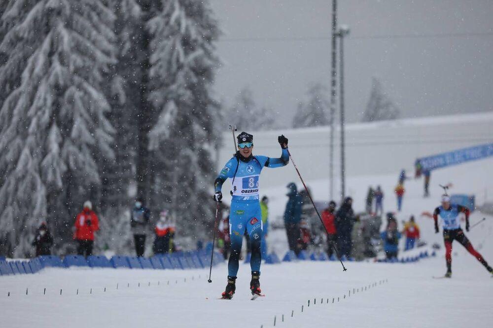 15.01.2021, Oberhof, Germany (GER):Emilien Jacquelin (FRA) -  IBU World Cup Biathlon, relay men, Oberhof (GER). www.nordicfocus.com. © Manzoni/NordicFocus. Every downloaded picture is fee-liable.