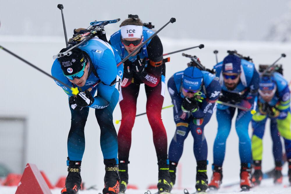 17.01.2021, Oberhof, Germany (GER):Emilien Jacquelin (FRA) -  IBU World Cup Biathlon, mass men, Oberhof (GER). www.nordicfocus.com. © Manzoni/NordicFocus. Every downloaded picture is fee-liable.
