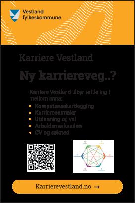 Karriere Vestland -Ny karriereveg