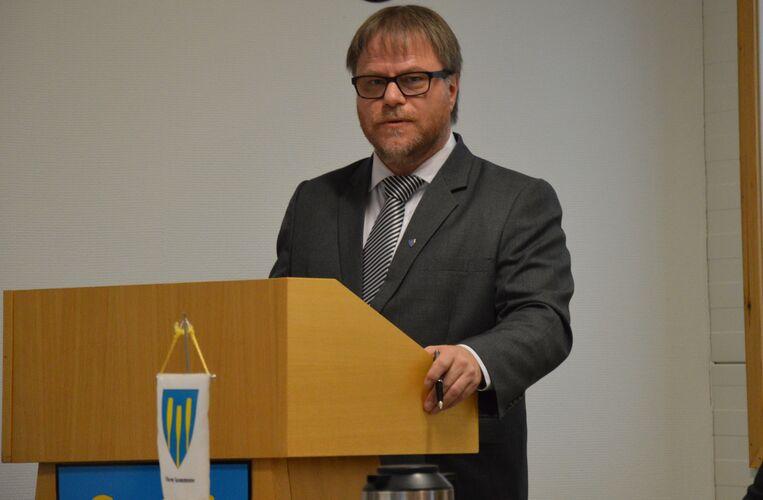 Rådmann Geir Berglund går av