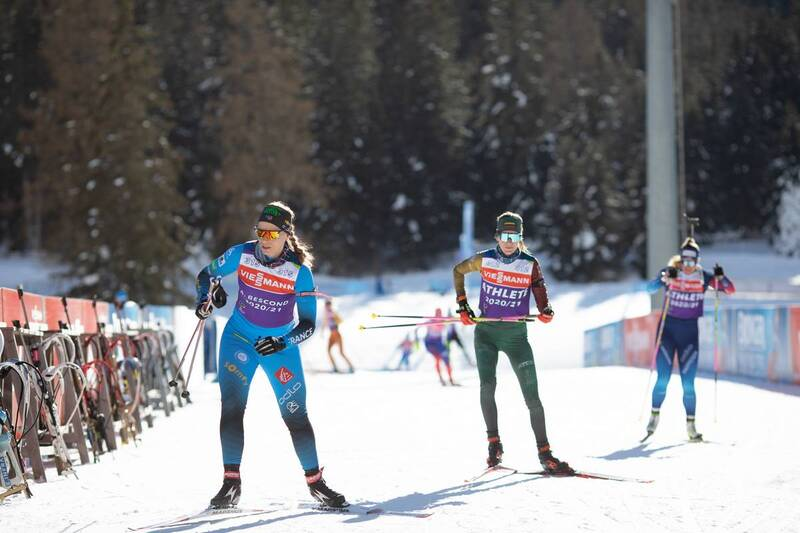 20.01.2021, Antholz, Italy (ITA): Anais Bescond (FRA) -  IBU World Cup Biathlon, training, Antholz (ITA). www.nordicfocus.com. © Manzoni/NordicFocus. Every downloaded picture is fee-liable.