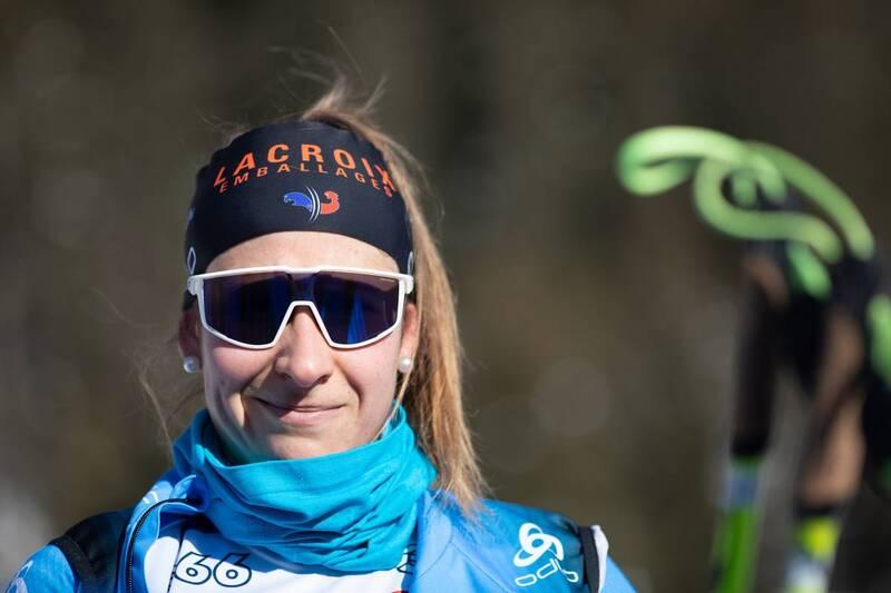 20.01.2021, Antholz, Italy (ITA): Caroline Colombo (FRA) -  IBU World Cup Biathlon, training, Antholz (ITA). www.nordicfocus.com. © Manzoni/NordicFocus. Every downloaded picture is fee-liable.