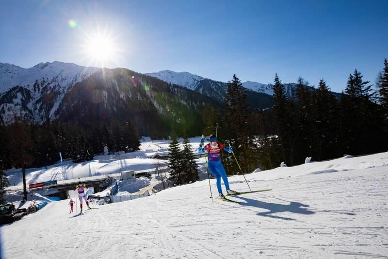 20.01.2021, Antholz, Italy (ITA): Larisa Kuklina (RUS) -  IBU World Cup Biathlon, training, Antholz (ITA). www.nordicfocus.com. © Manzoni/NordicFocus. Every downloaded picture is fee-liable.