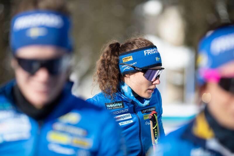 20.01.2021, Antholz, Italy (ITA): Hanna Oeberg (SWE) -  IBU World Cup Biathlon, training, Antholz (ITA). www.nordicfocus.com. © Manzoni/NordicFocus. Every downloaded picture is fee-liable.