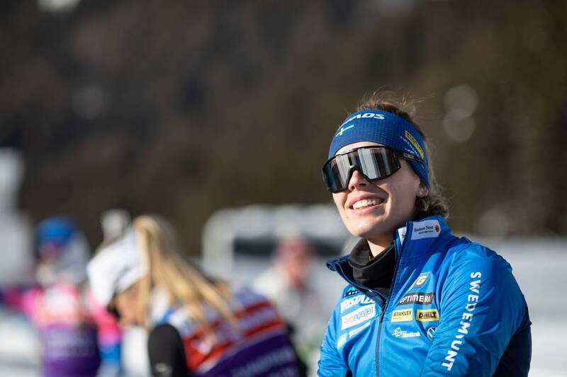 20.01.2021, Antholz, Italy (ITA): Elvira Oeberg (SWE) -  IBU World Cup Biathlon, training, Antholz (ITA). www.nordicfocus.com. © Manzoni/NordicFocus. Every downloaded picture is fee-liable.