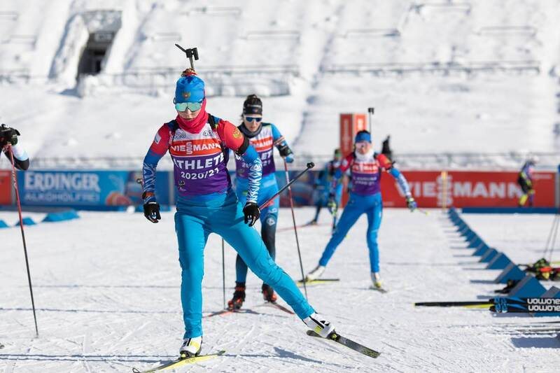 20.01.2021, Antholz, Italy (ITA): Evgeniya Pavlova (RUS) -  IBU World Cup Biathlon, training, Antholz (ITA). www.nordicfocus.com. © Manzoni/NordicFocus. Every downloaded picture is fee-liable.