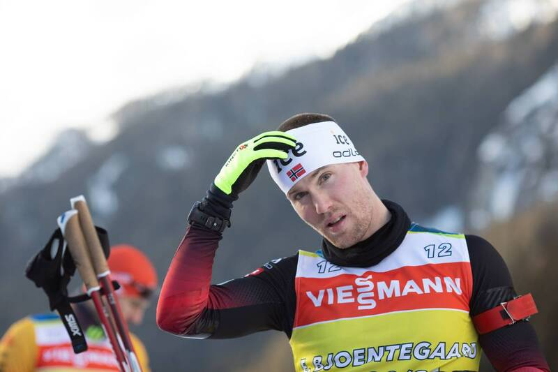20.01.2021, Antholz, Italy (ITA): Erlend Bjoentegaard (NOR) -  IBU World Cup Biathlon, training, Antholz (ITA). www.nordicfocus.com. © Manzoni/NordicFocus. Every downloaded picture is fee-liable.