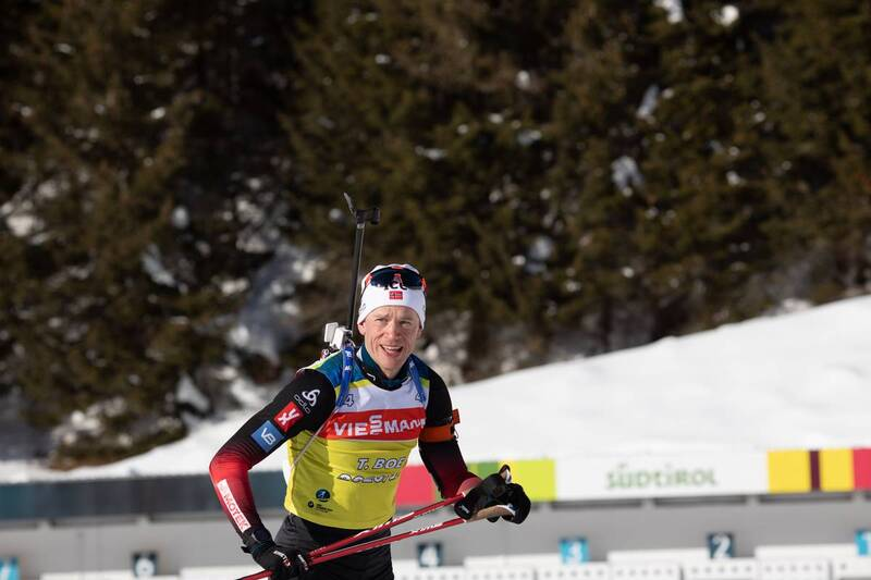 20.01.2021, Antholz, Italy (ITA): Tarjei Boe (NOR) -  IBU World Cup Biathlon, training, Antholz (ITA). www.nordicfocus.com. © Manzoni/NordicFocus. Every downloaded picture is fee-liable.